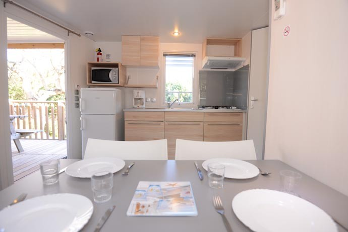 Arbouse - Mobil Home 2 Chambres